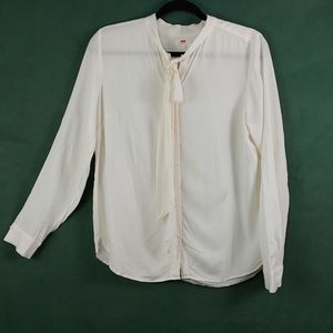 LEVI'S BUTTON TOP WITH TIE
